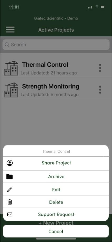smartrock App Project Management